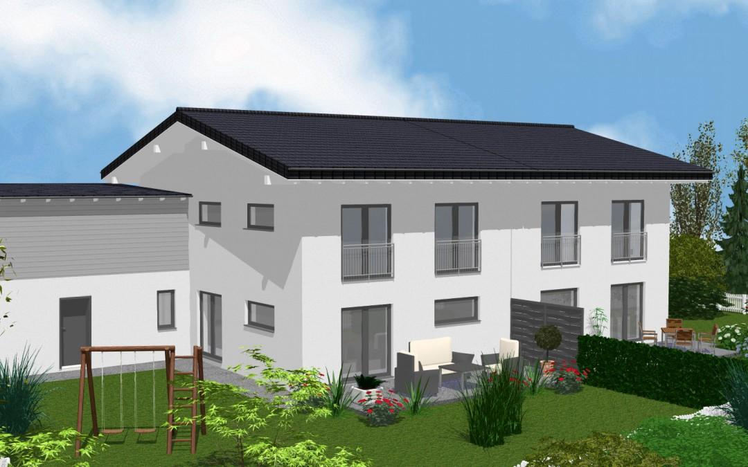 Doppelhaus – Teisnach VERMIETET