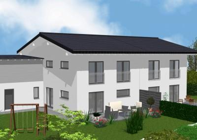 Neubau – Doppelhaus