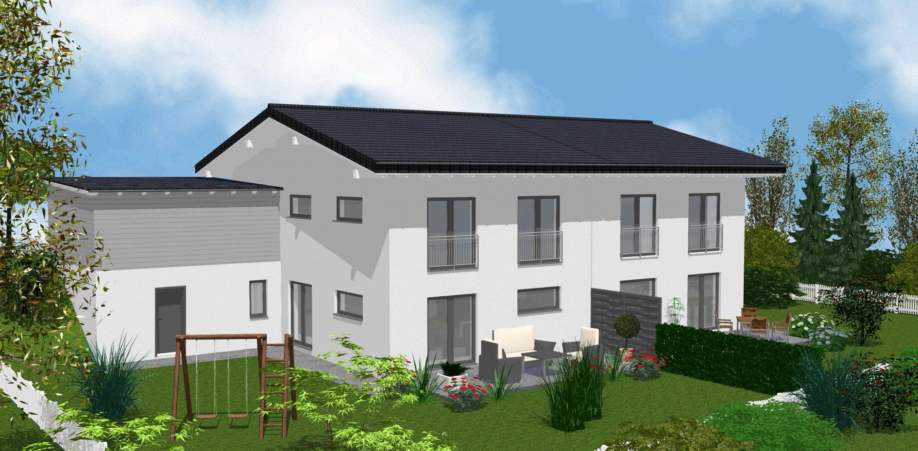 Doppelhaus – Teisnach VERMIETET   Gruber Haus und Grund GmbH