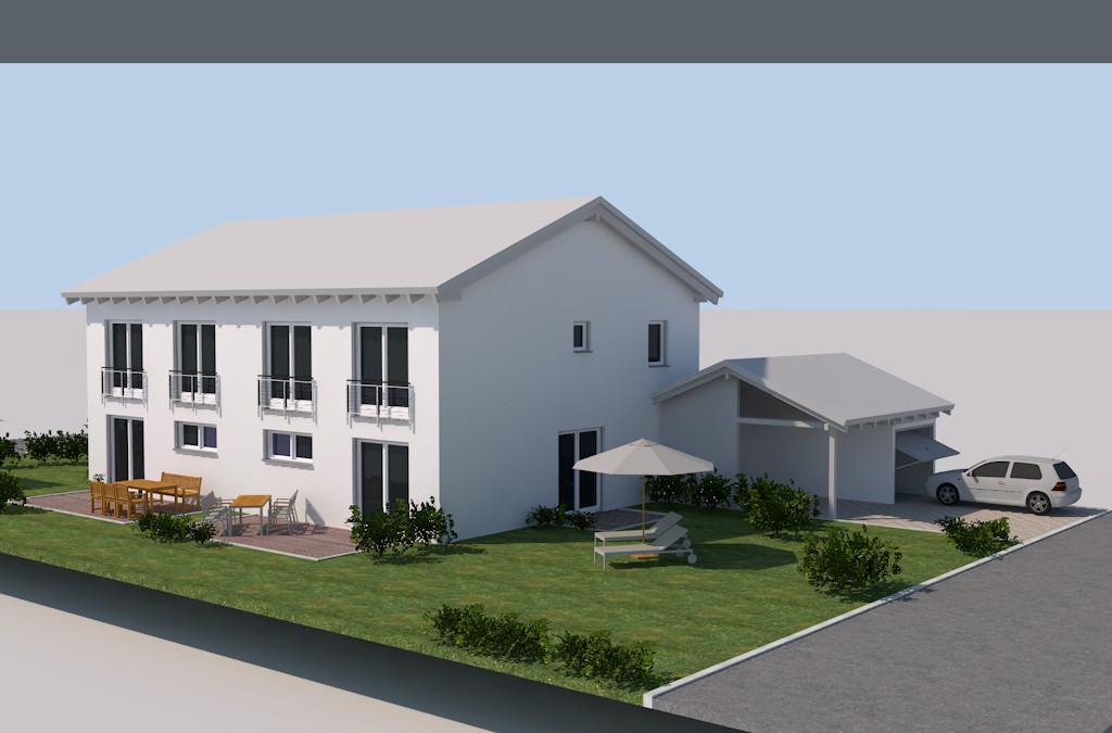 Doppelhaushälfte – Hengersberg – Verkauft
